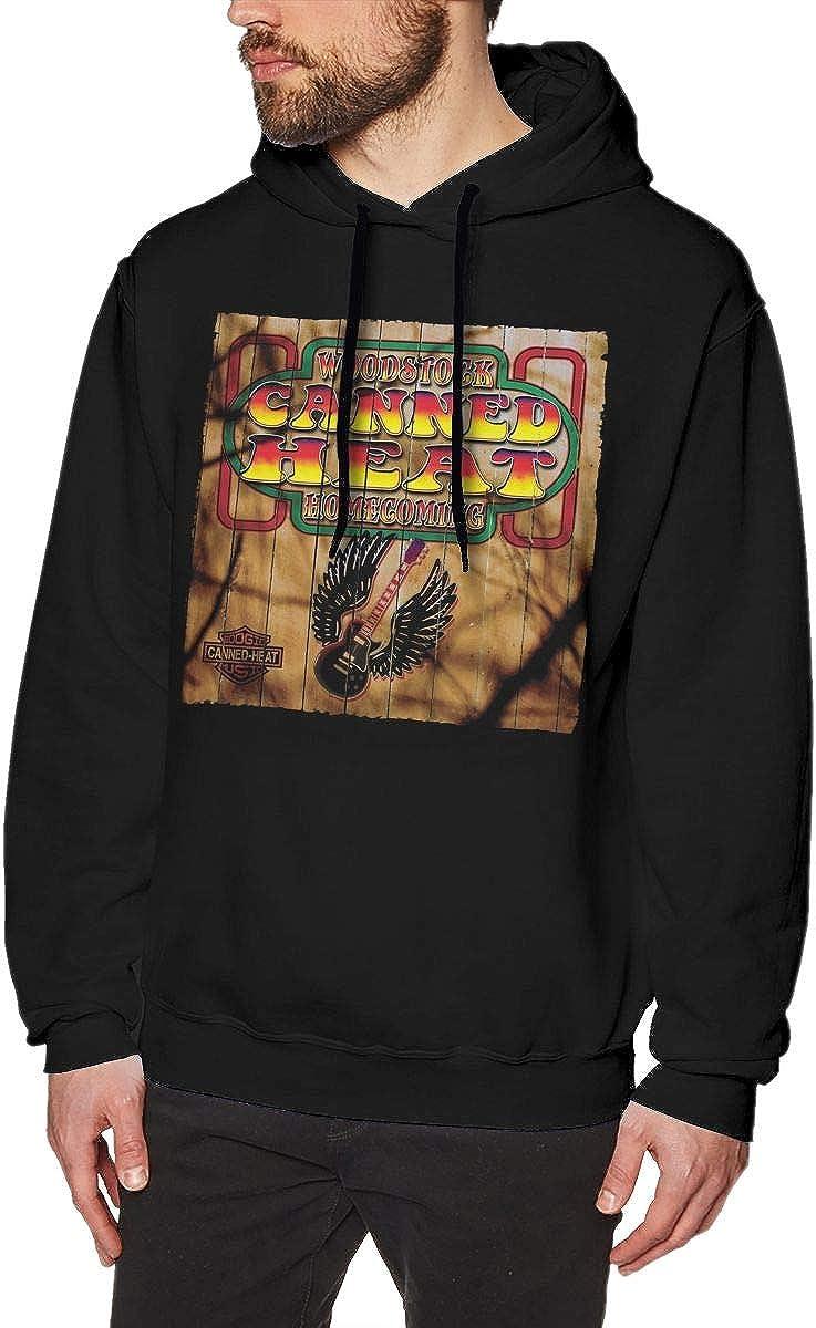 CAMERON MORLEY Canned Heat Sweatshirts for Men Hoodies Black