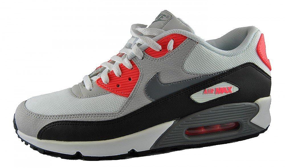 Nike Air Max 90 ESSENTIAL 537384 108 SNEAKER Grau Schwarz