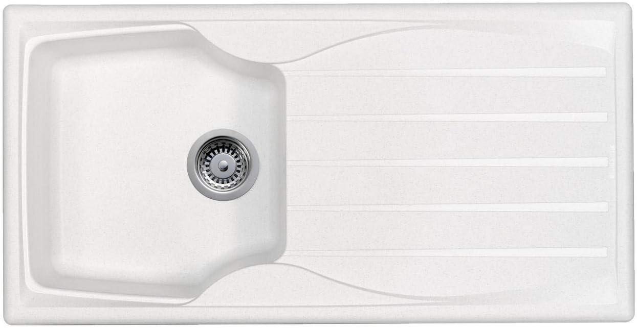Waste Kit Astracast Sierra 1 5 Bowl Reversible Teflite Kitchen Sink In Black Diy Tools Kitchen Bath Fixtures