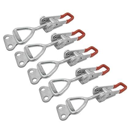 Abrazadera de palanca - TOOGOO(R)4001 100Kg 220Lbs Capacidad de retencion Pestillo Abrazadera