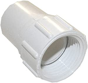 LASCO 15-1623 PVC Hose Adapter with 3/4-Inch Female Hose and 3/4-Inch PVC Pipe Glue Connection