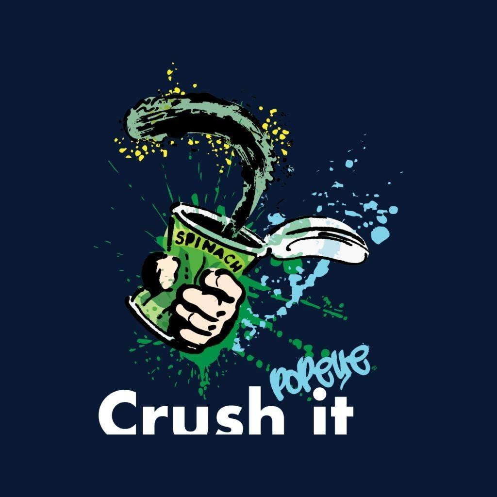 Popeye Spinach Crush It Kids T-Shirt