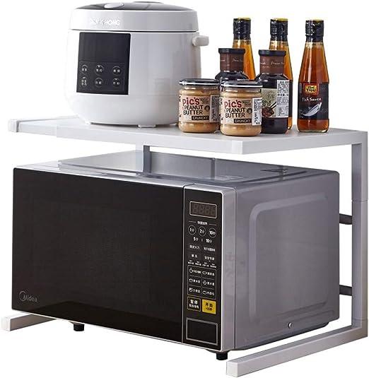 Rejilla de horno de microondas, cocina de 2 niveles, estante de ...