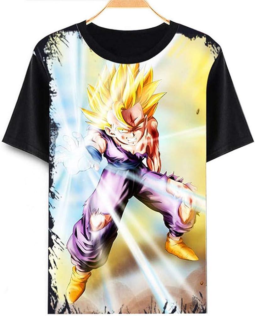 Dragon Ball Z Goku Anime Camiseta Cosplay Disfraz de Verano de ...