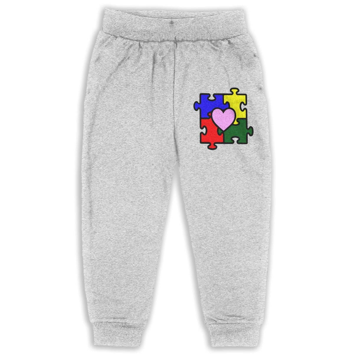 Classic Boys Girls Jersey Pant Autism Puzzle Piece SVG is A Wonderful SVG Your Autism Crafting Unisex Kid Toddler Pants