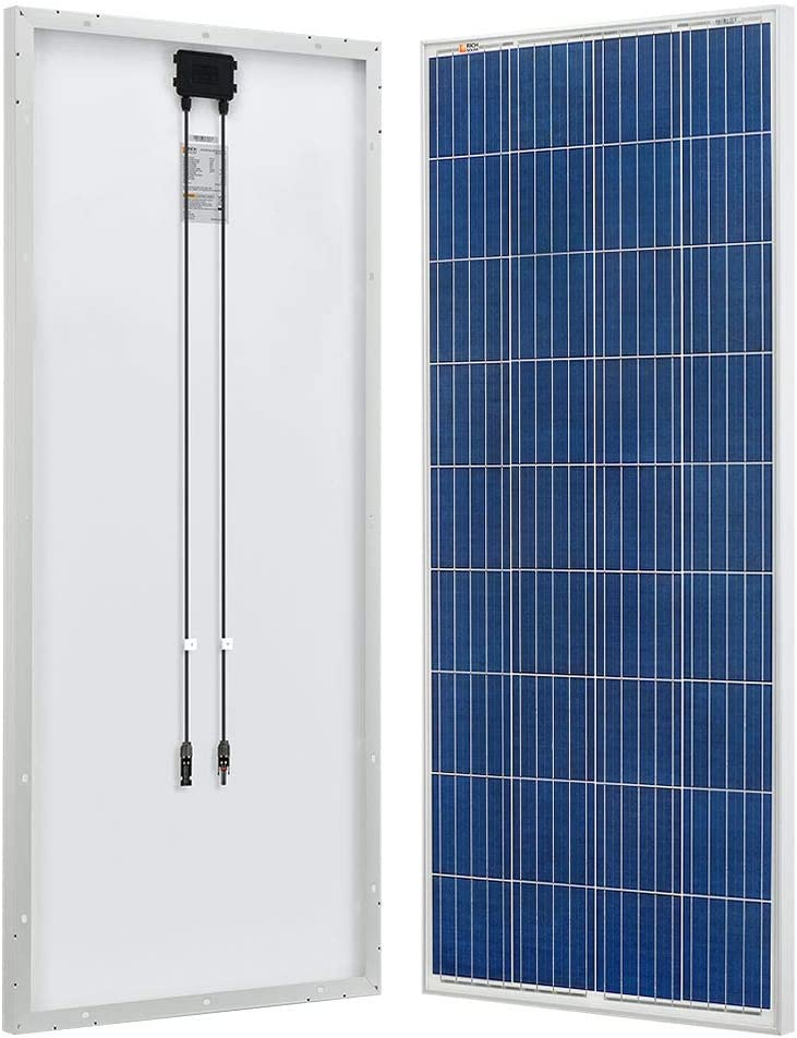 RICH SOLAR 160 Watt 12 Volt Polycrystalline Solar Panel High Efficiency Module for Battery Charging for RV Trailer Marine Boat Caravan and Other Off Grid Applications
