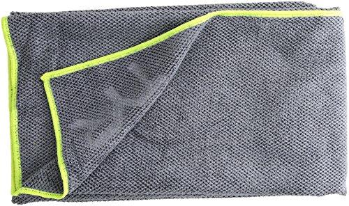TYR XL Hyper Dry Sport Towel, Grey (Hyper Sport)