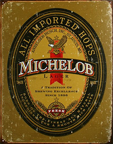 michelob-beer-logo-distressed-retro-vintage-tin-sign