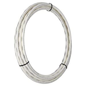 SharkBite U860W25 PEX Pipe 1/2 Inch, Flexible Water Tube, Pot, 25-Foot, White
