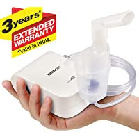 Omron NE C803 Compact & Lightweight Compressor Nebulizer For Child & Adult With Low Noise Operation & Medication Capacity of 10 ml For Best Respiratory Care