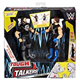 WWE Tough Talkers AJ Styles and Seth Rollins Figure 2 Pack