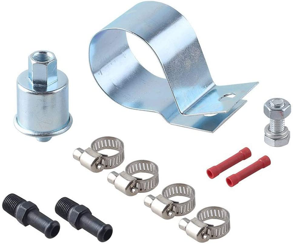 Primming Transfer Pumps 5//16 inch Wire Design w//Installation Kit Bravex E8012S High Performance Universal Electric Fuel Pump Self 5-9 Psi