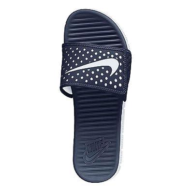 check out 01121 ba7f4 Nike Men s Flex Motion Slide (12 D(M) Us, Midnight Navy   White)   Amazon.co.uk  Shoes   Bags