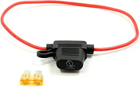 Lumision ATO ATC Inline 16AWG Fuse Holder (Water Proof) + 5AMP Fuse