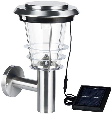 Livarno Lux® Lámpara Solar LED, Lámpara Farol | lámpara de pared | pared para