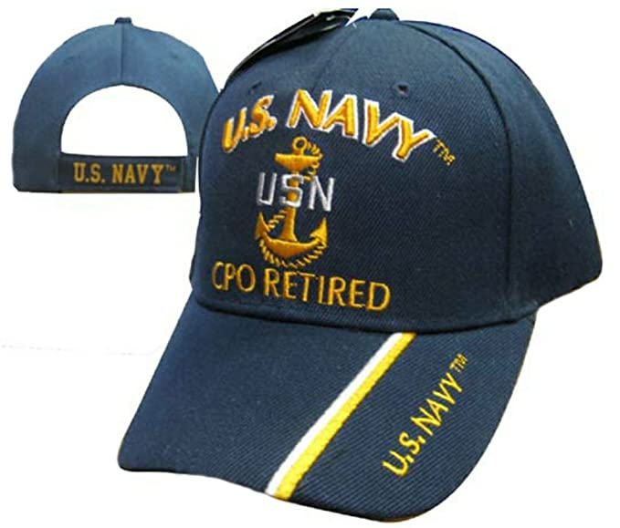 Wildbill s U.S. Navy Chief Petty Officer Retired Cap at Amazon Men s ... 8240b8456fb4