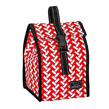 SCOUT Doggie Lunch Bag, Red Red Vine