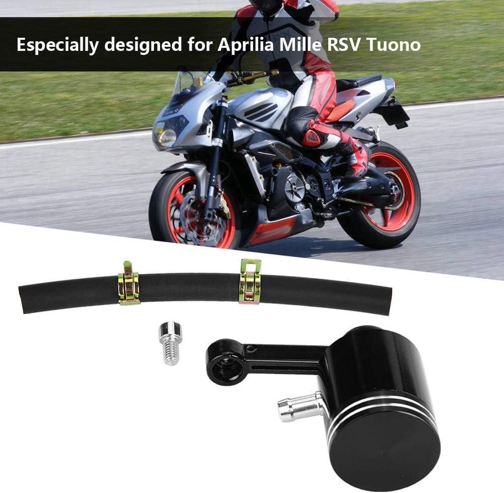 Embrague de freno Cilindro maestro Dep/ósito de l/íquido Tanque Copa de aceite Apto para motocicleta Aprilia Ducati