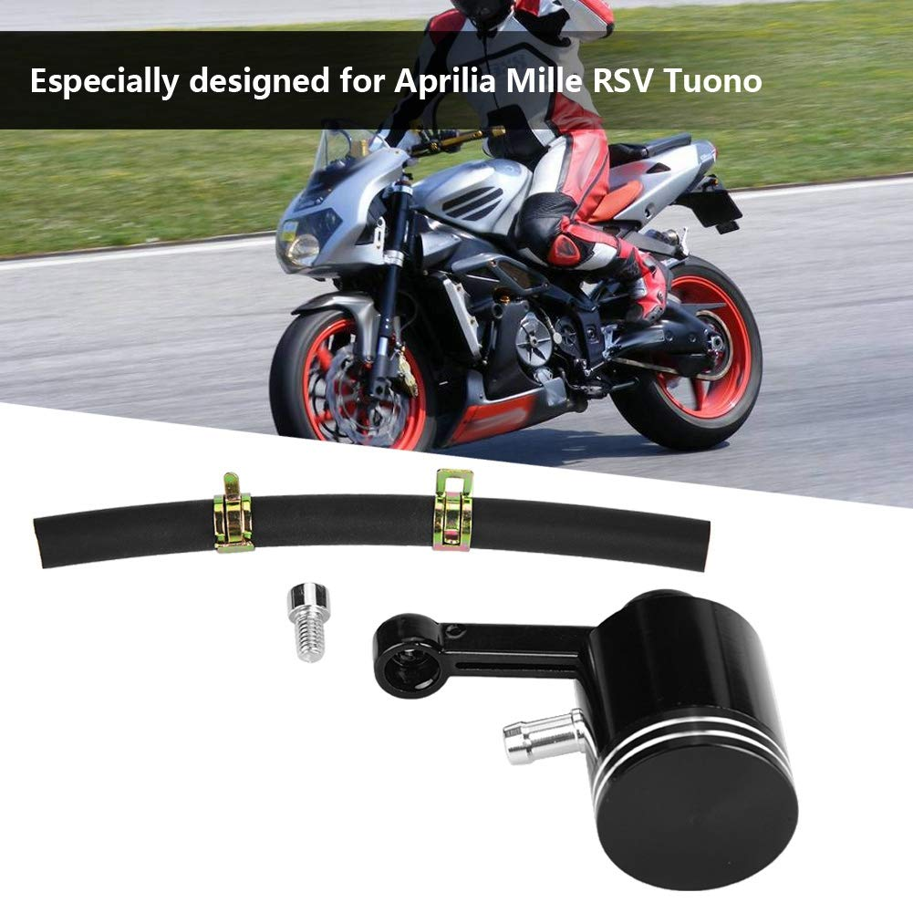 Bremsfl/üssigkeitsbeh/älter f/ür Motorrad f/ür Aprilia Ducati Akozon Brems/ölbeh/älter