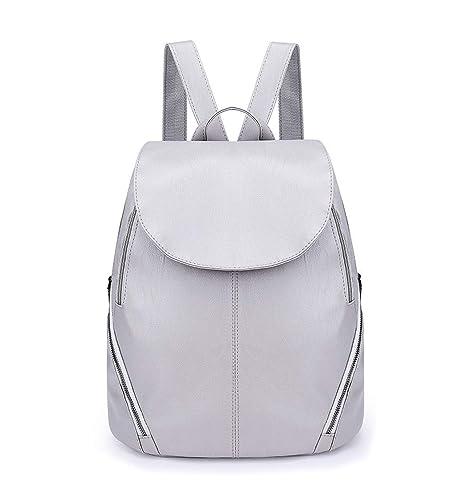 DEERWORD Mujer Bolsos mochila Bolsas escolares Bolsos bandolera Shoppers y bolsos de hombro Cuero de PU