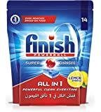 Finish All in 1 Dishwasher Detergent Lemon Powerball, 14 Tablets