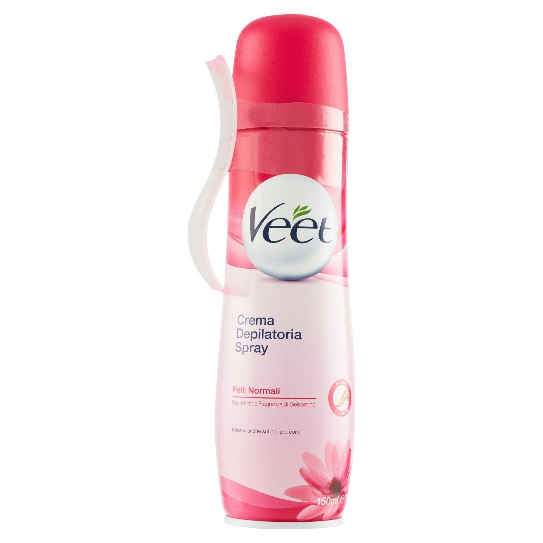 Veet - Depilatory spray normal skin 150 ml: Amazon.es: Alimentación y bebidas