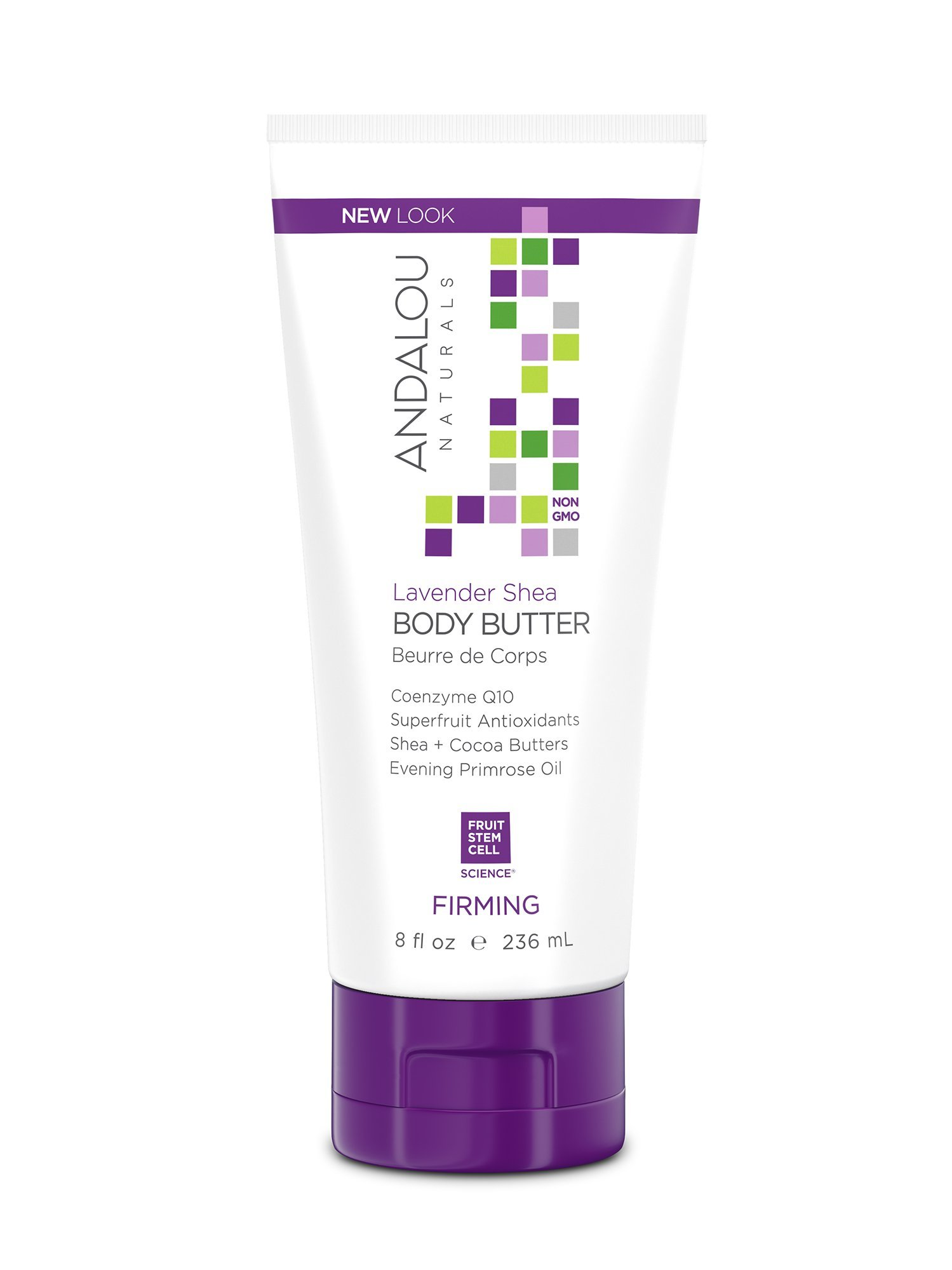 Andalou Naturals Body Butter 8 Ounce