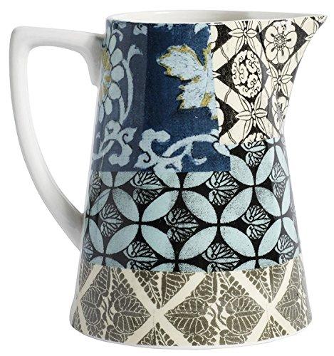 Nordal Patchwork jug, small, Blue Design