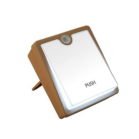 Lámpara de noche de guardería, lámpara regulable Fushop Touch Sensor luz de movimiento Lámpara de