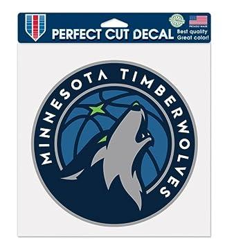 8 x 8 Black WinCraft NHL Minnesota Wild 87579010 Perfect Cut Color Decal