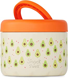 S'well Stainless Steel Container 24 Fl Oz-Avocado-Double-Layered Insulated Bowls Keep Food and Drinks Cold and Hot-with No Condensation-BPA-Free Water Bottle, 24oz