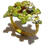 (パルナートポック)Palnart Poc シロツメクサ リング クローバー 指輪 アクセサリー 花 フラワー クラブ ナチュラル 個性的【Brough Superior/ブラフシューペリア】