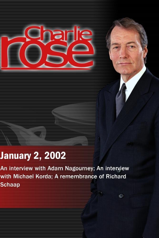 Charlie Rose with Adam Nagourney; Michael Korda; Mike Lupica, Neil Leifer, Jeremy Schaap, Richard Schaap (January 2, 2002)
