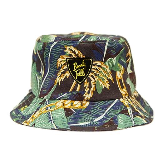 Amazon.com  BLVD Supply Men s Beverly Trills Tropical Print Bucket Hat   Clothing fd9b4c81971
