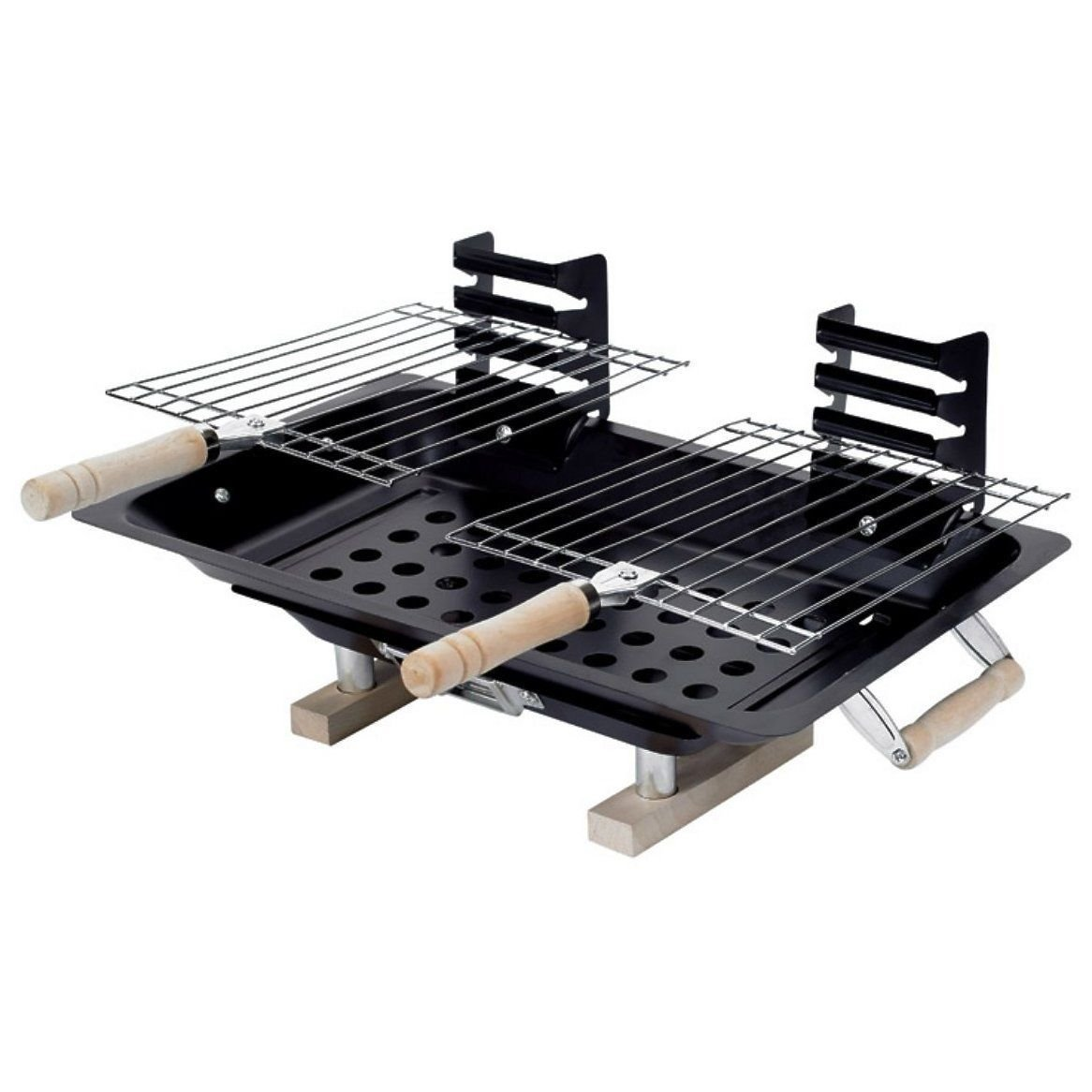 DINY Home & Style Hibachi Charcoal BBQ Grill