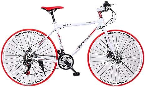 HAOHAOWU Bicicleta De Carretera De Aluminio, Bicicleta De Montaña ...