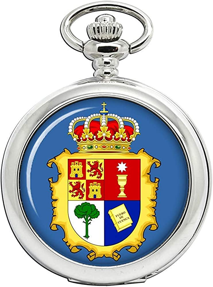 Cuenca (España) Reloj Bolsillo Hunter Completo: Amazon.es: Relojes