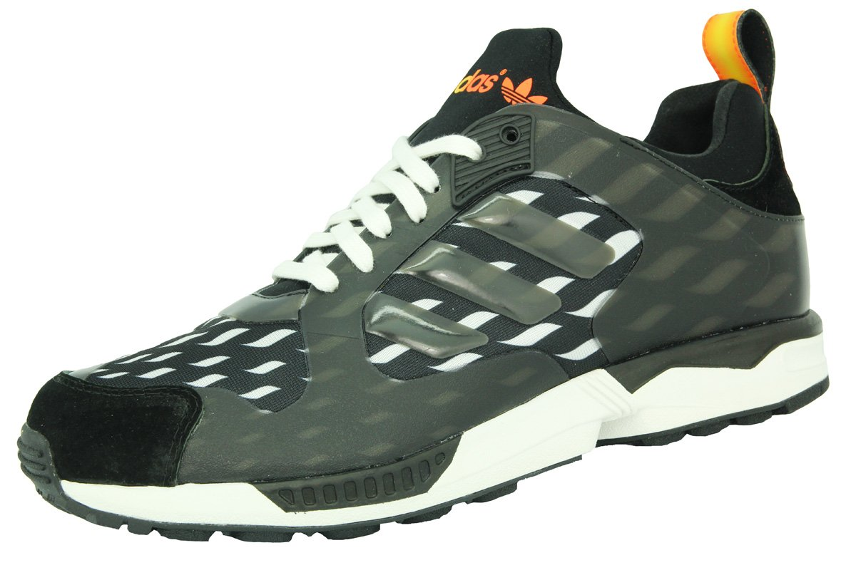 d1c86acf0 adidas ZX 5000 RSPN Toilet World Cup Black White Mens Trainers Shoes  Response Torsion New