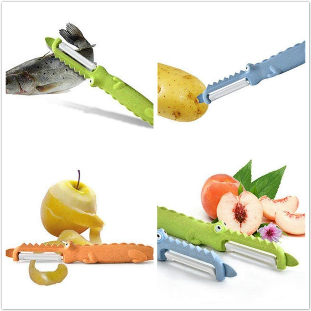 Ceramic Apple Swivel Peeler for Peeling Vegetables OFKP High Quality Portable Fruit Peeler