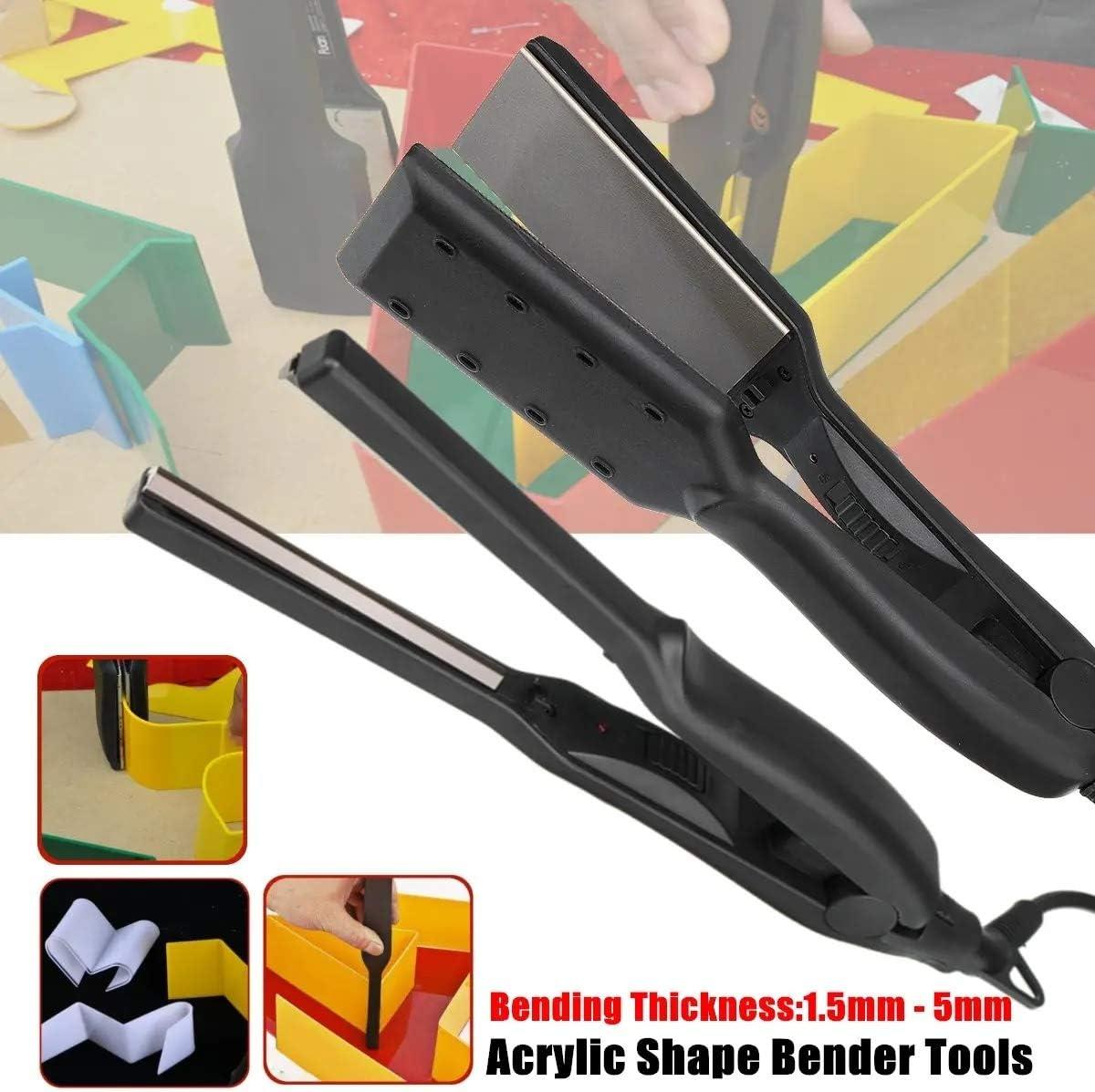 Electric Hot Bending Machine Curved Arc Luminous Word Hardware Tools Kit Set Acrylic Hot Bending Machine Bender Edge Tool DIY Tool Kit