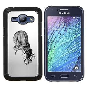 LECELL--Funda protectora / Cubierta / Piel For Samsung Galaxy J1 J100 -- Belleza Volver --