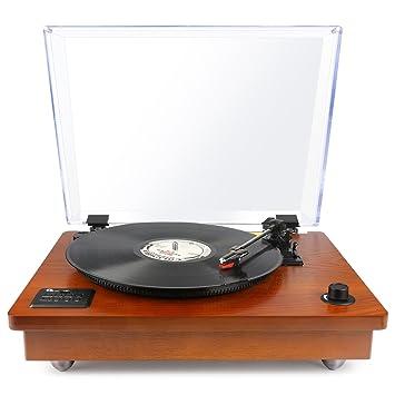 1byone estilo portátil estéreo para tocadiscos: Amazon.es: Electrónica