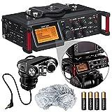 Tascam DR-70D 4-Channel Audio Recording Device for DSLR Review and Comparison