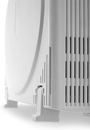 DeLonghi AC75 Purificador de aire, 3 estados de filtración, 25 m², 40 Decibeles, 3 Velocidades, Blanco: Amazon.es ...