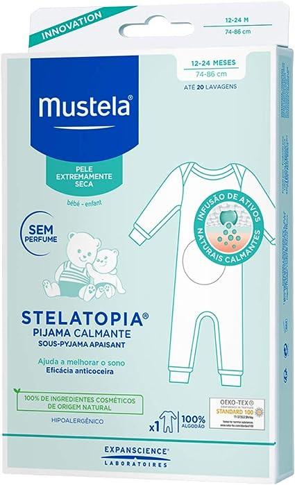 Mustela Mustela pyjama apaisant 12/24m 100 g: Amazon.es: Salud y cuidado personal
