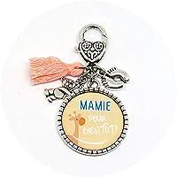 """Porte clés""""Mamie pour bientôt !"""" - annonce naissance, future mamie, grand-mère"""