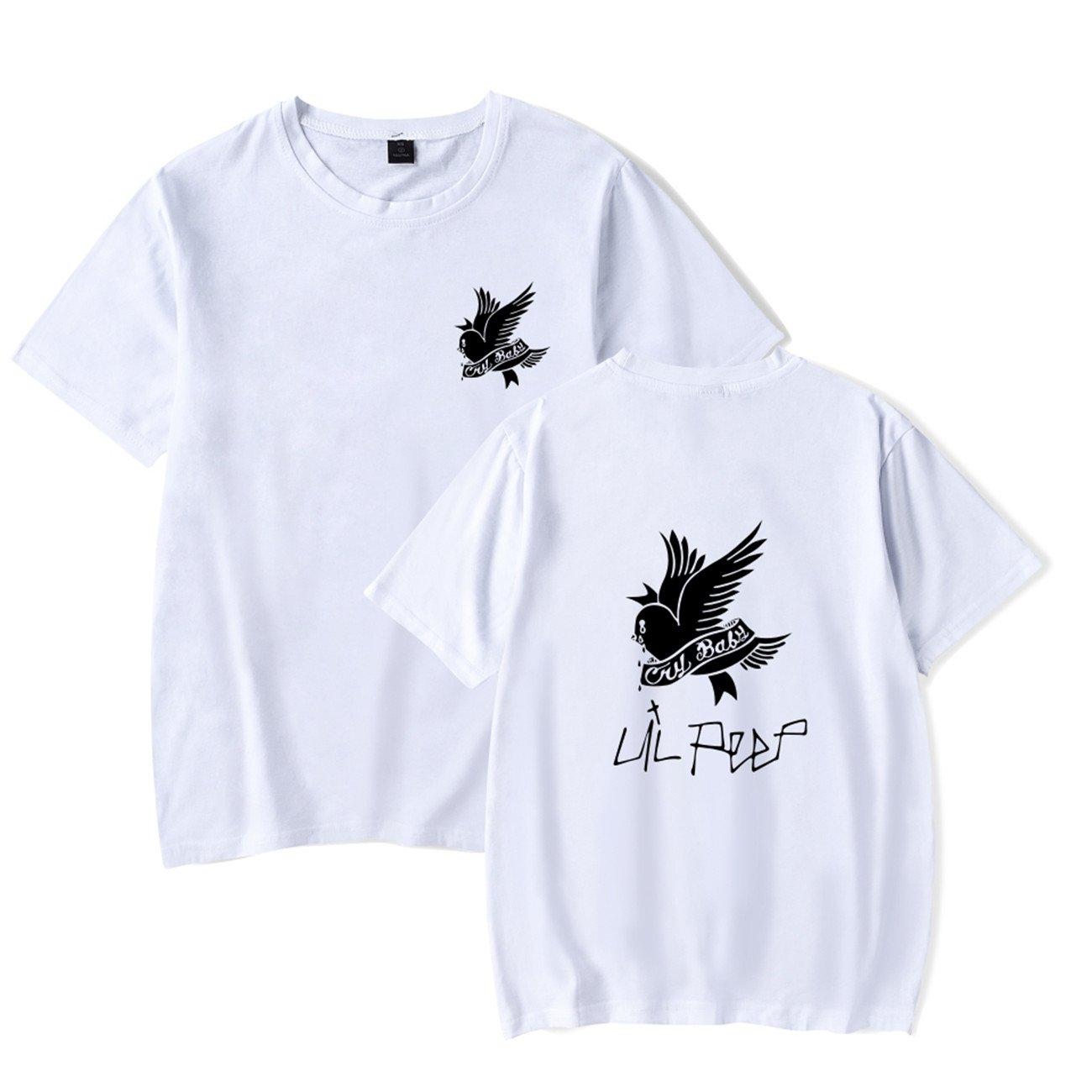 SERAPHY Unisex t Shirt R.I.P Lil Peep Cry Baby Rapper Hip Hop Primavera  Maglietta Harajuku Maglietta Casual Uomo Donna Stampa Abiti  Amazon.it  ... 3a1999c0249d