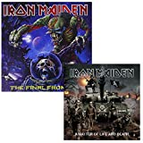 The Final Frontier - A Matter Of Life And Death - Iron Maiden 2 CD Album Bundling