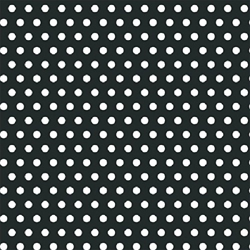 Black Polka Dot Jumbo Gift Wrap