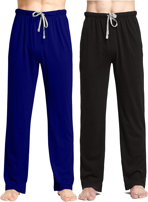 CYZ Comfortable Jersey Cotton Knit Pajama Lounge Sleep Pants